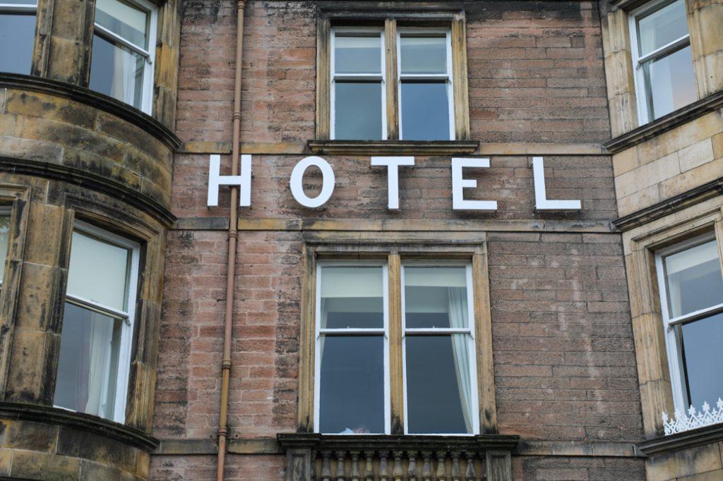 hotel in Schotland