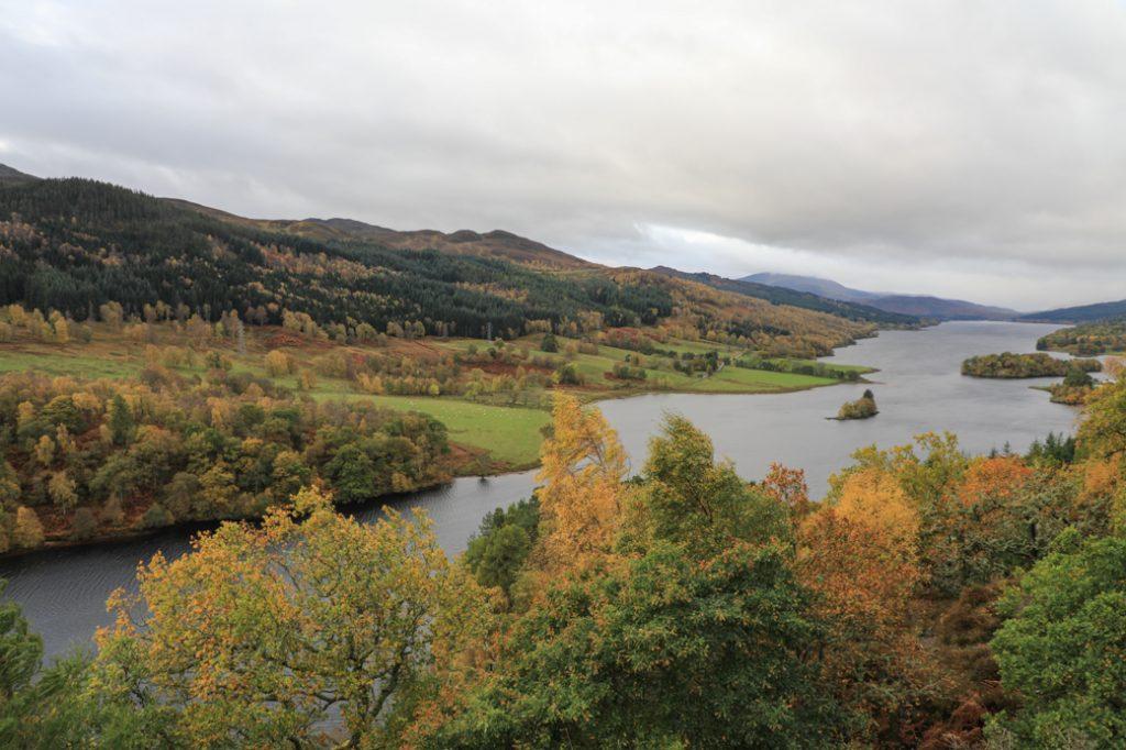 Het weer in Schotland